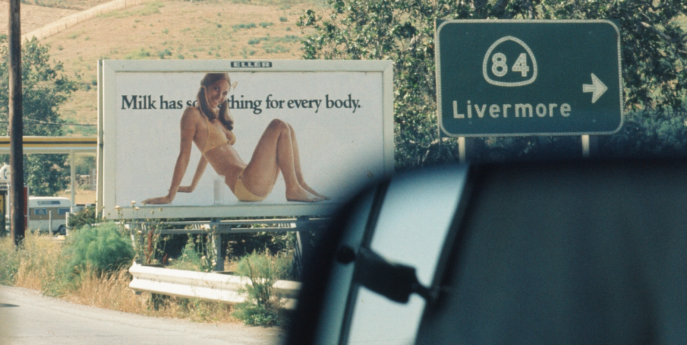Photo Of A Girl In A Bikini On A Billboard
