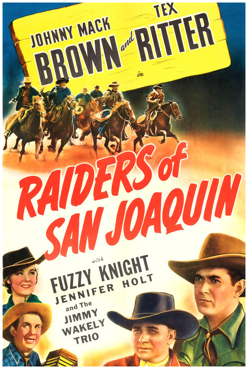 Raiders Of San Joaquin (Movie Poster)