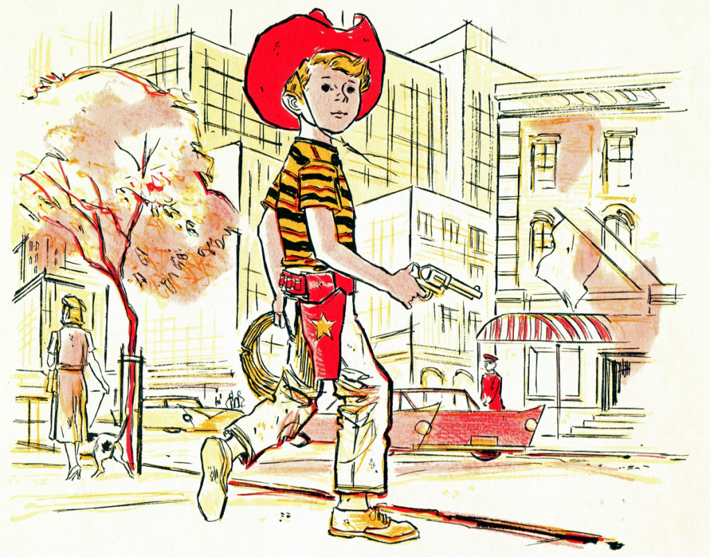 Cowboy Andy (Book Art)