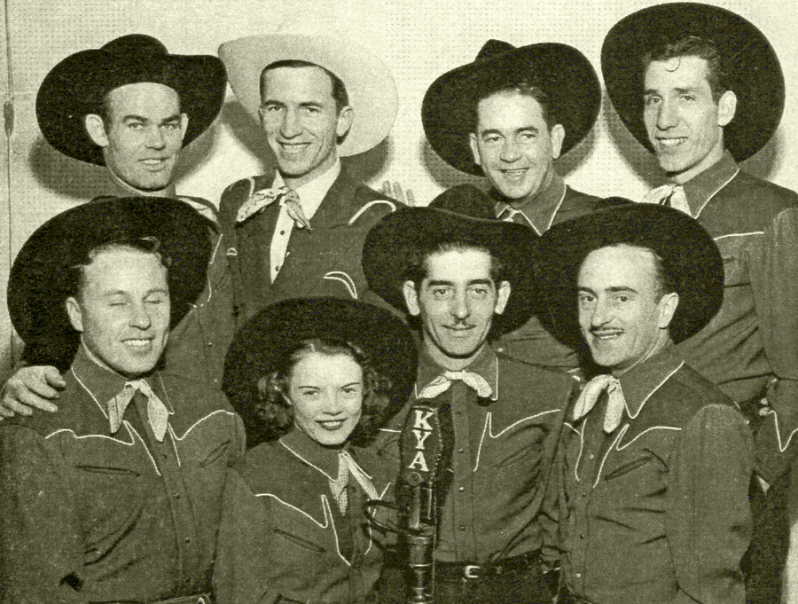 Dude Martin and his band, circa 1945